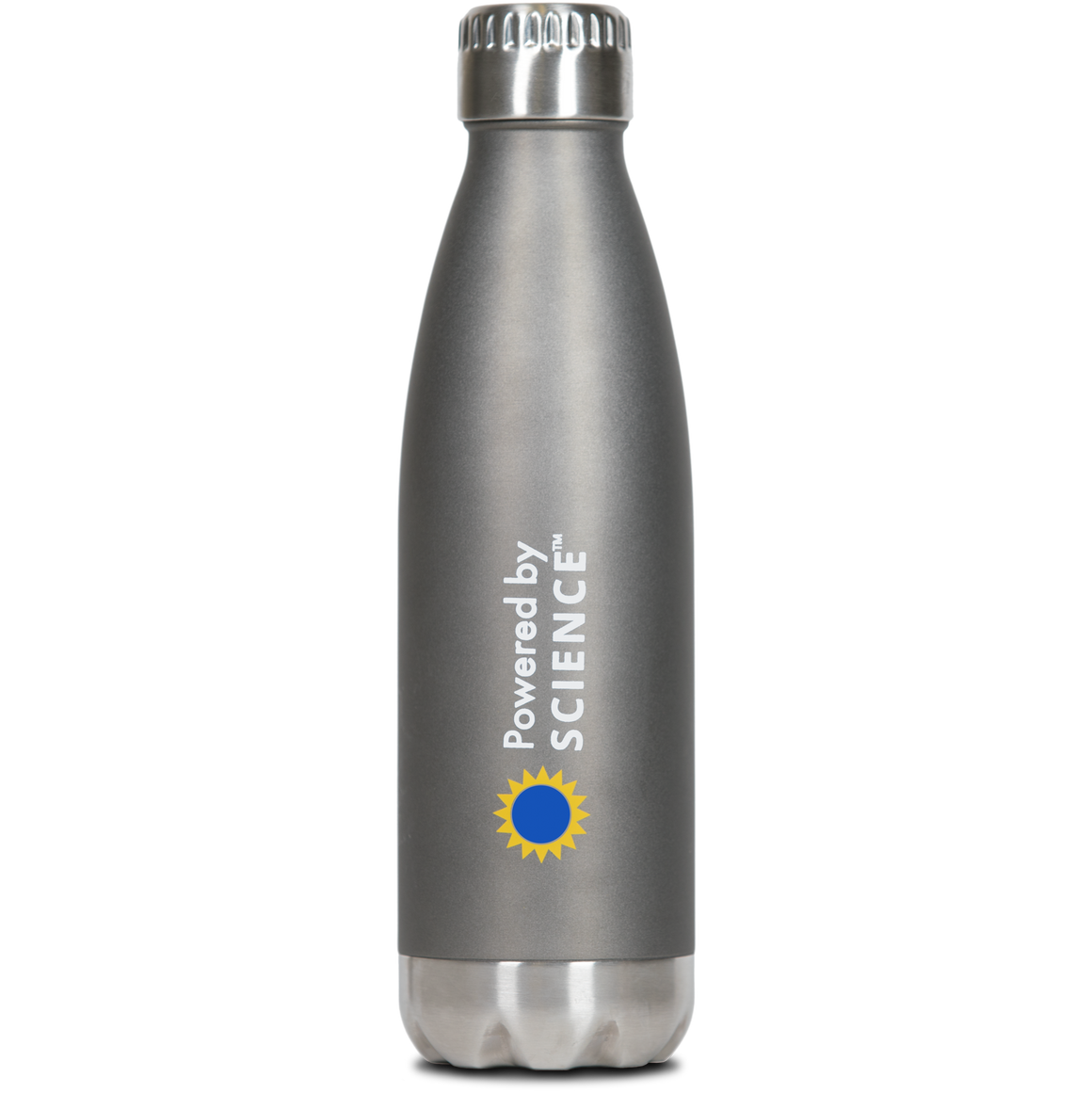 Thermal Cola Shape Bottle Water Bottle (16 oz) - Stainless Steel Vacuum Insulated, Leak-Proof Double Walled