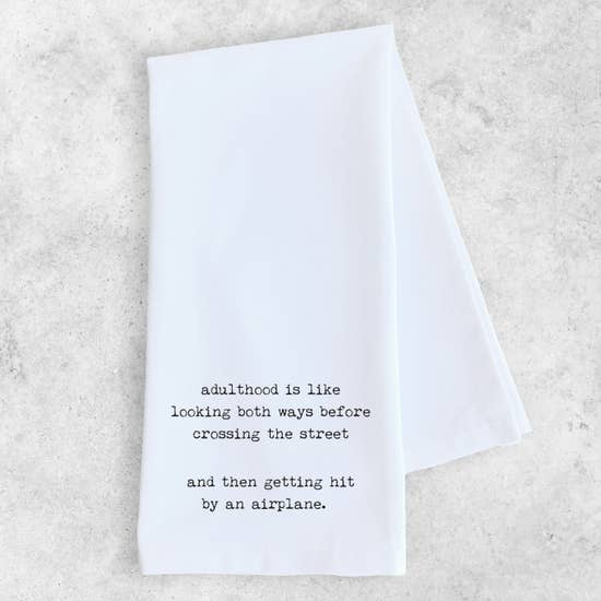 Adulthood - Tea Towel