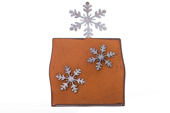Snowflake Picture Frame