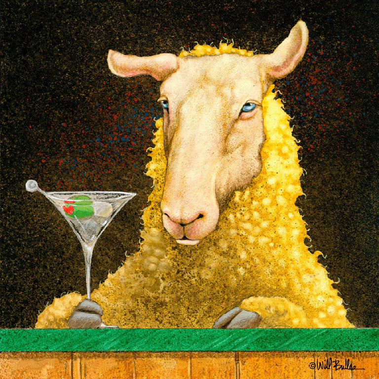 Sheep-faced on Martinis