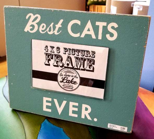 Best Cats Ever Frame