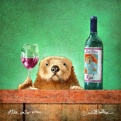 otter into wine