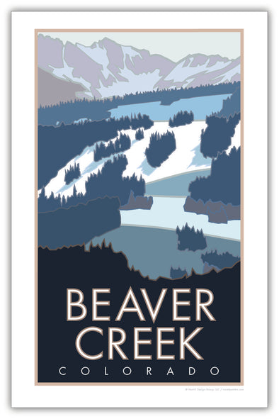 Beaver Creek Colorado Poster 11 x 17