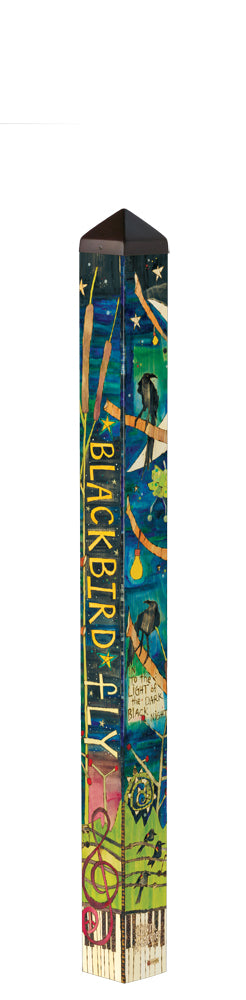 Blackbird 4' Art Pole
