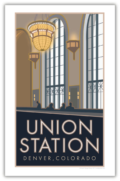 Denver Union Station (Cooper Lounge) Poster 11 x 17