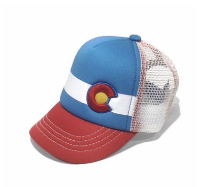 Lil Nugget Baby Trucker Kids Hat