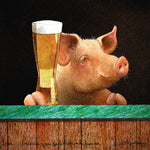 Beer....Because you can't drink bacon.