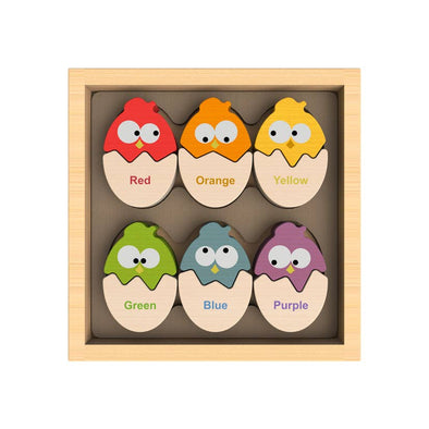 Bilingual Color 'N Eggs Matching Puzzle