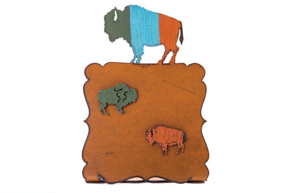 Buffalo Picture Frame