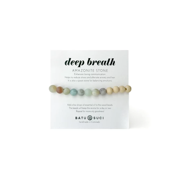 Deep Breath Diffuser Bracelet