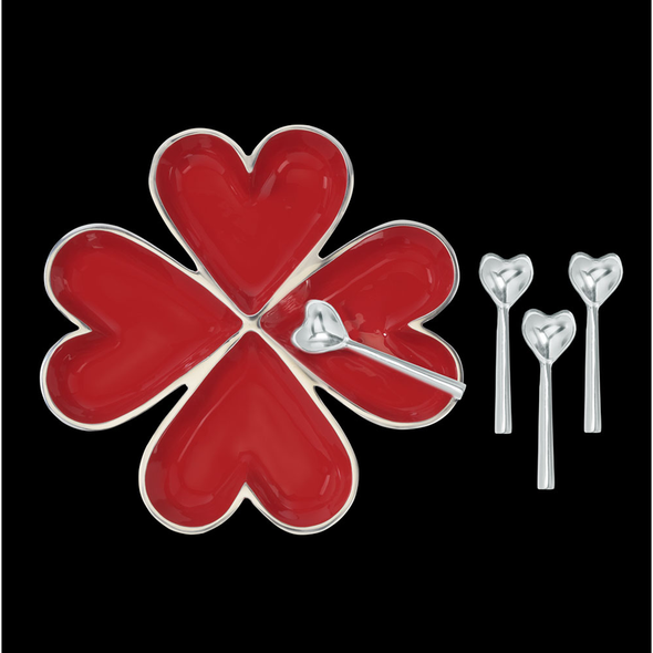 Four Hearts w/ Four Spoons