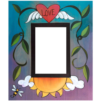 "5x7 ""Bee"" in Love Sincerely Sticks Picture Frame"
