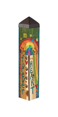 "CAT-Rainbow Bridge  20"" Art Pole"