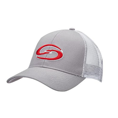 7ca0e2f8f1bee Trucker Cap - Gray Body-White Neon Mesh-Strike King Lures-Clermont Tactical