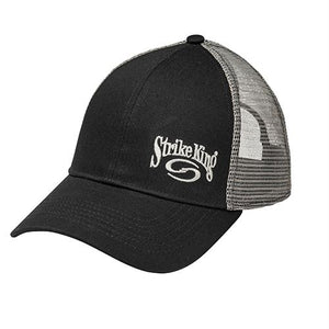 16b38c546e86d Trucker Cap - Gray Heather Body-Black Mesh-Strike King Lures-Clermont  Tactical