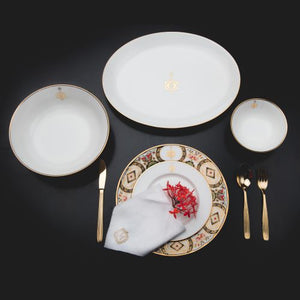 Dinnerware Mono - Set of 6