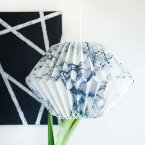 Marbled Lamp - Angled