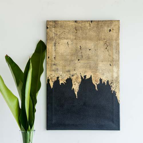 Gold Ombre Artprint