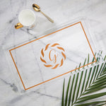 Medium Tray Monogram