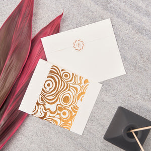 Agate Big Notecards - Copper