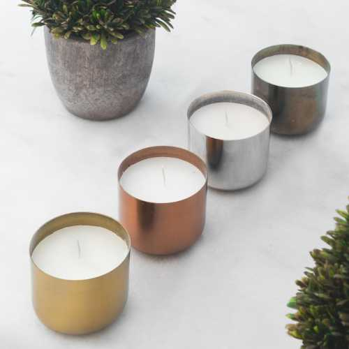 Patina Candle Collections - Set of 4