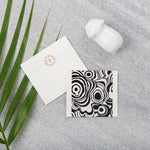 Agate Gift Notecards - Black
