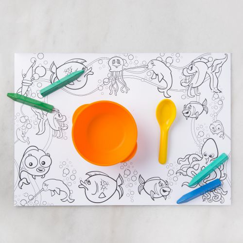 Kids Colouring Table Mats