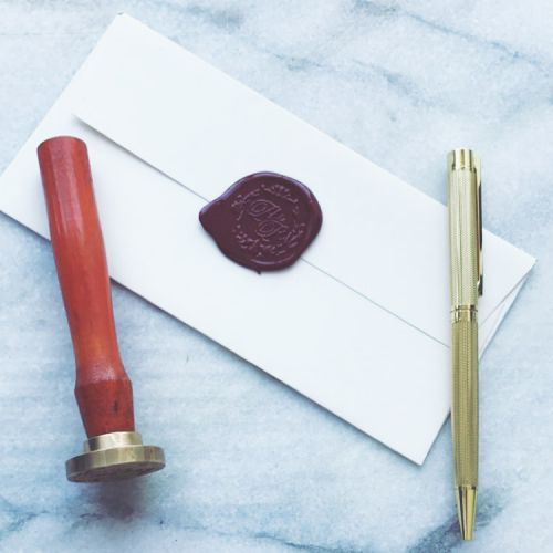 Monogram Wax Seal Set