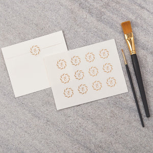 Monogrammed Seal Stickers