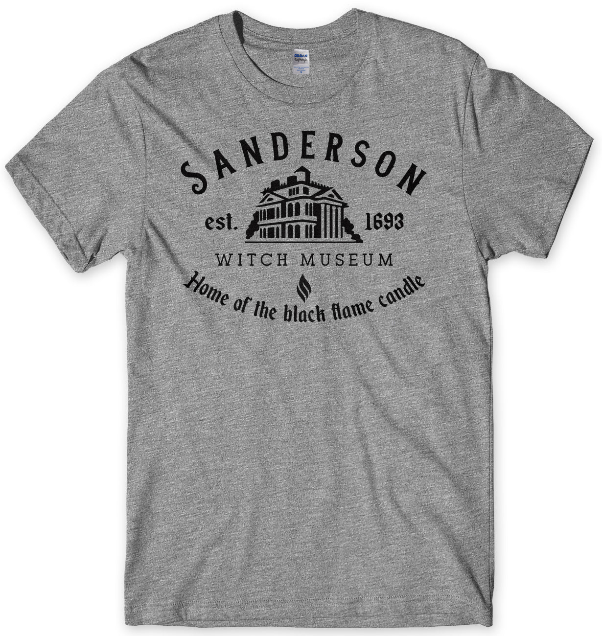 SANDERSON SISTERS WITCH MUSEUM INSPIRED BY HOCUS POCUS MENS UNISEX T-SHIRT