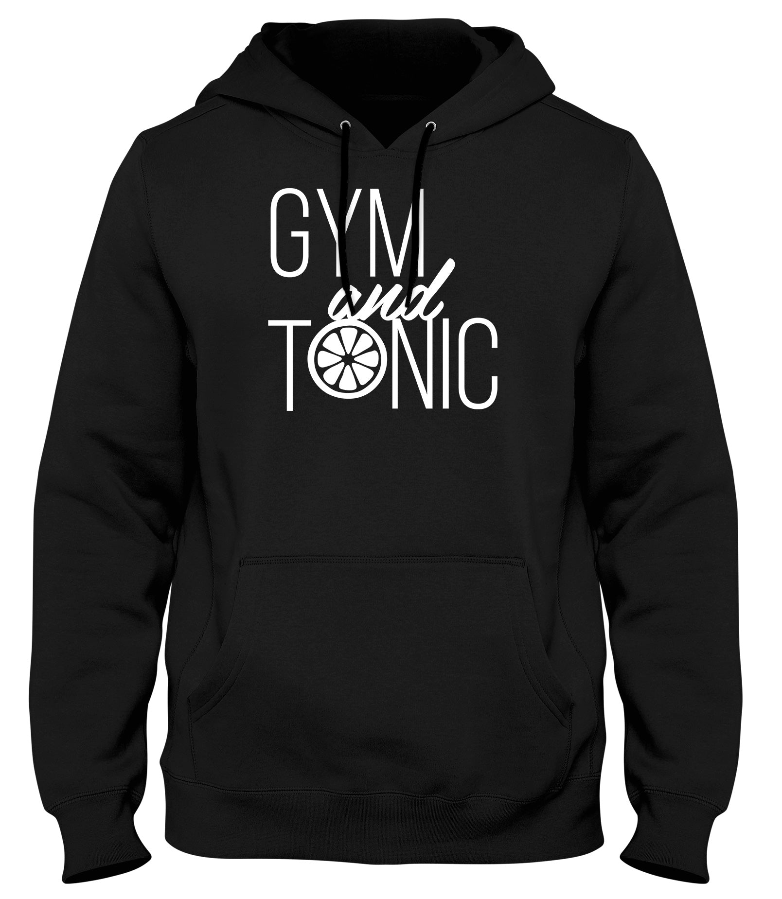 GYM AND TONIC WOMENS LADIES MENS UNISEX HOODIE