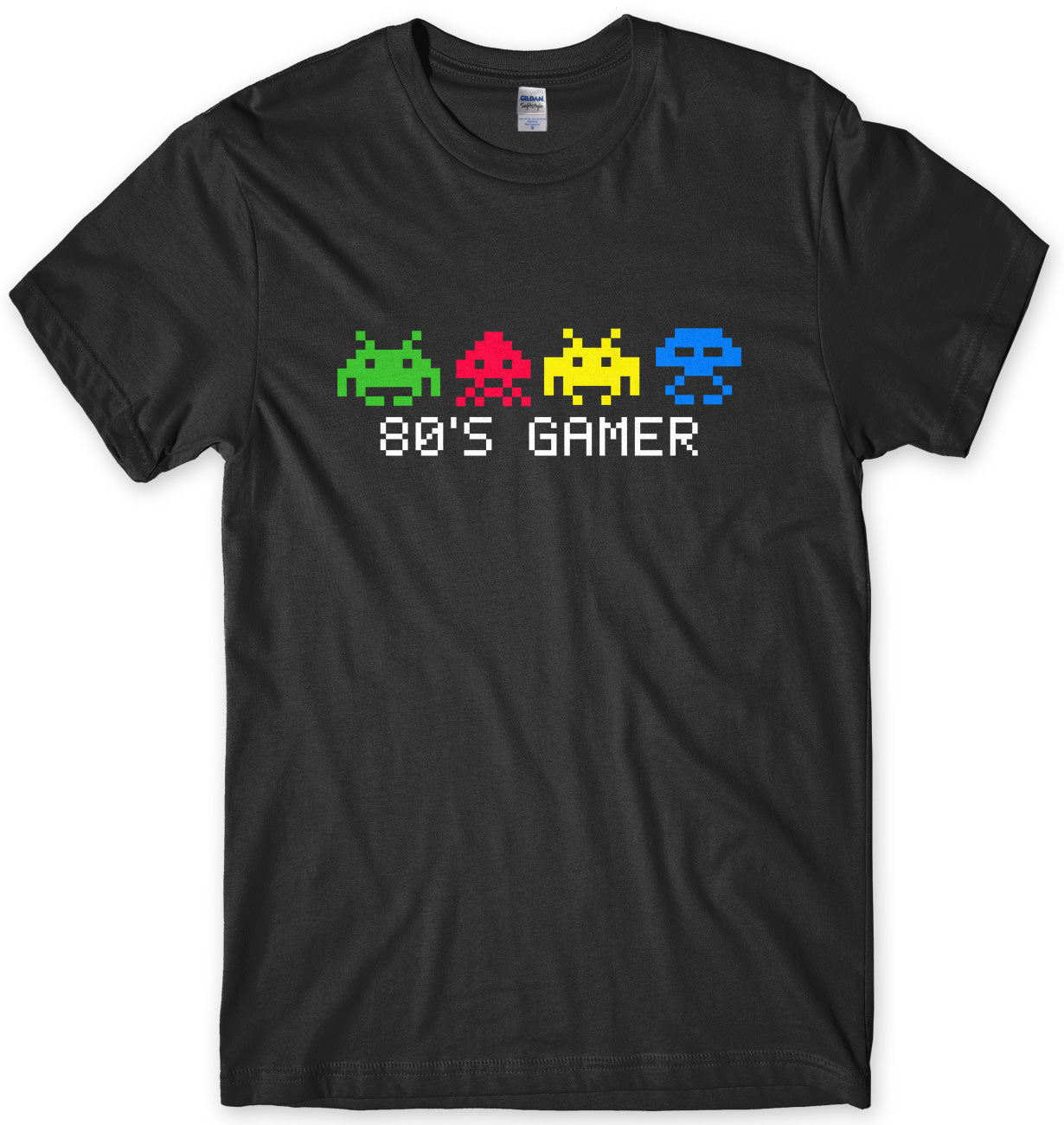 INVADERS FROM SPACE 80'S GAMER MENS UNISEX T-SHIRT