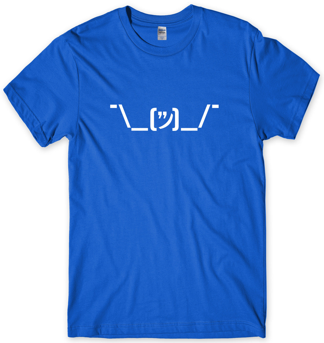 SHRUG CHARACTER KEYBOARD MENS FUNNY UNISEX T-SHIRT