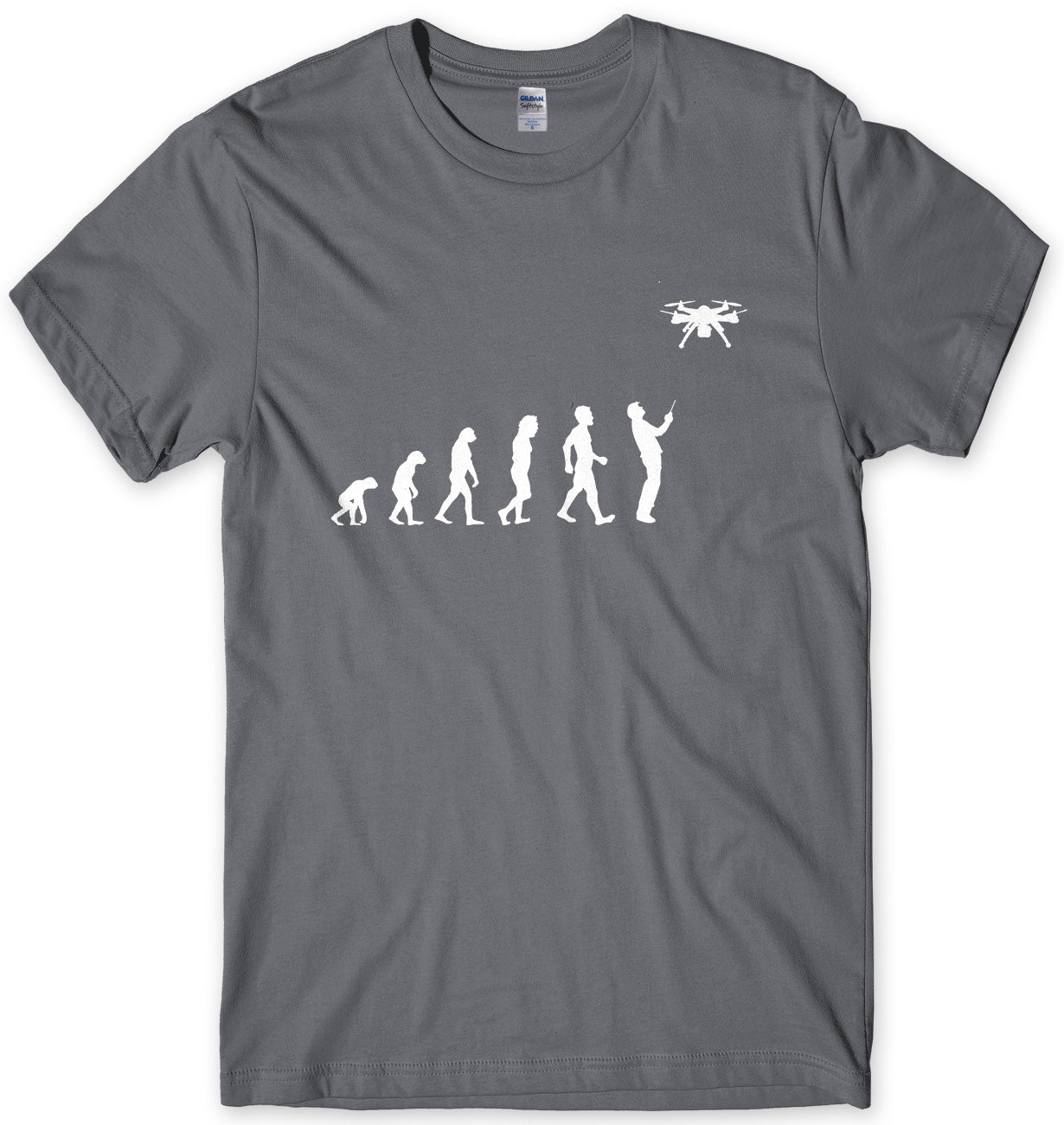 Evolution Of Drone Mens Unisex T-Shirt
