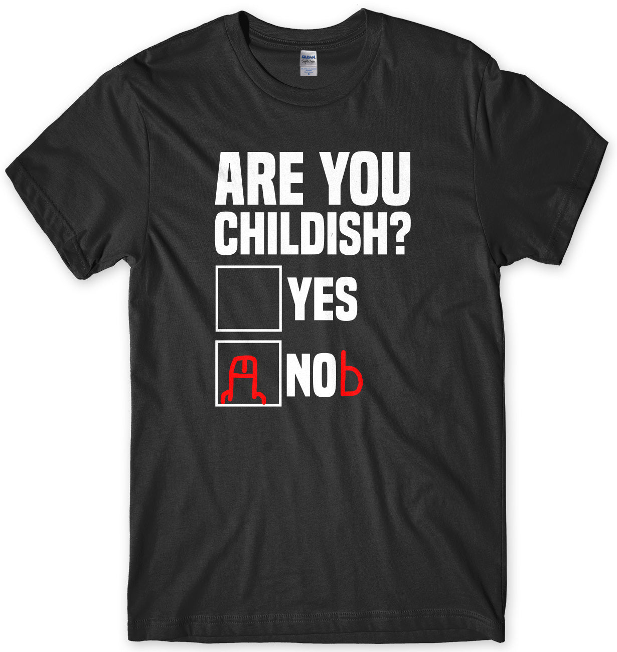 Are You Childish? Mens Unisex T-Shirt