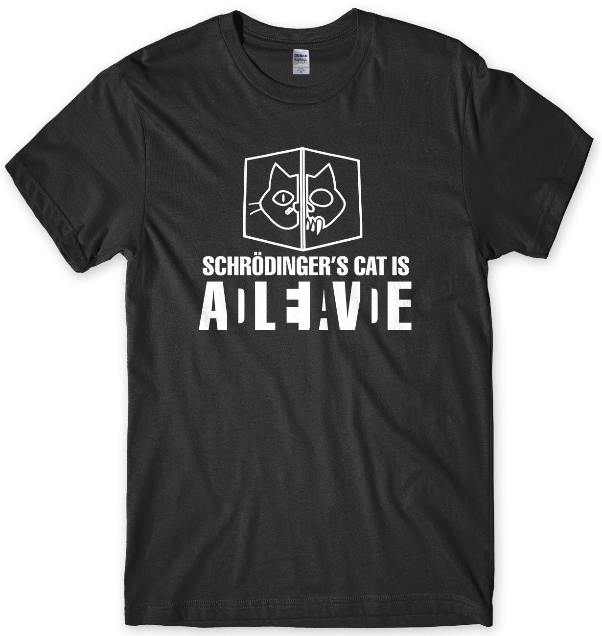 Schrodinger's Cat Inspired by Sheldon Cooper Mens T-Shirt