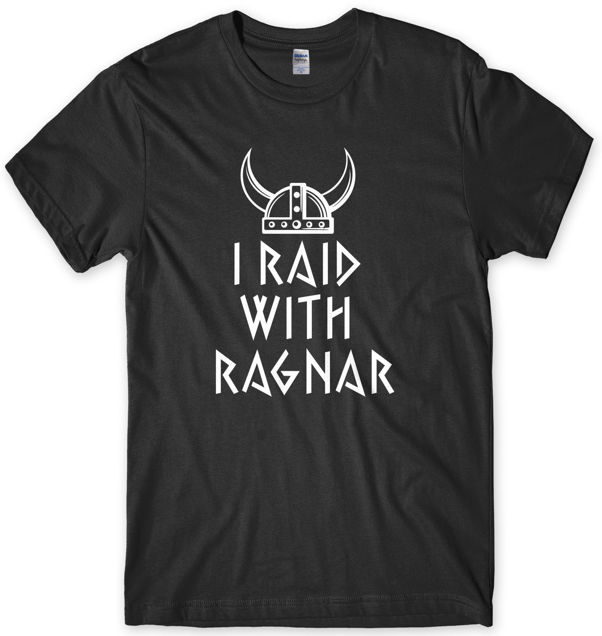 I Raid With Ragnar Inspired By Vikings Mens T-Shirt