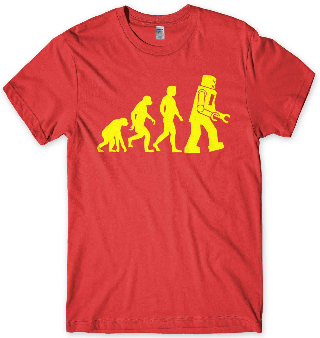 Evolution Of Robot Sheldon Cooper Inspired T-Shirt
