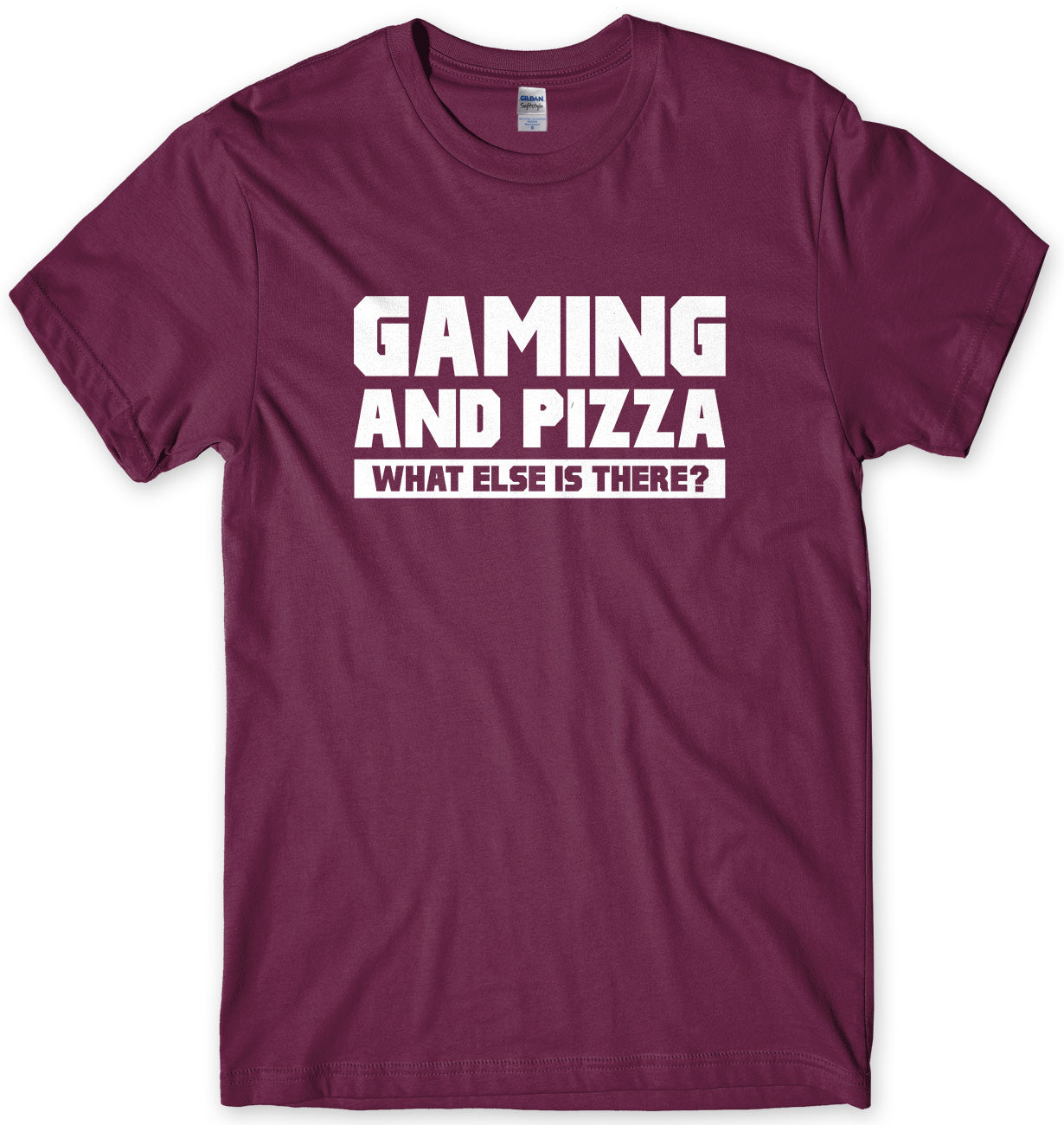 Gaming And Pizza - What Else Is There? Mens T-shirt