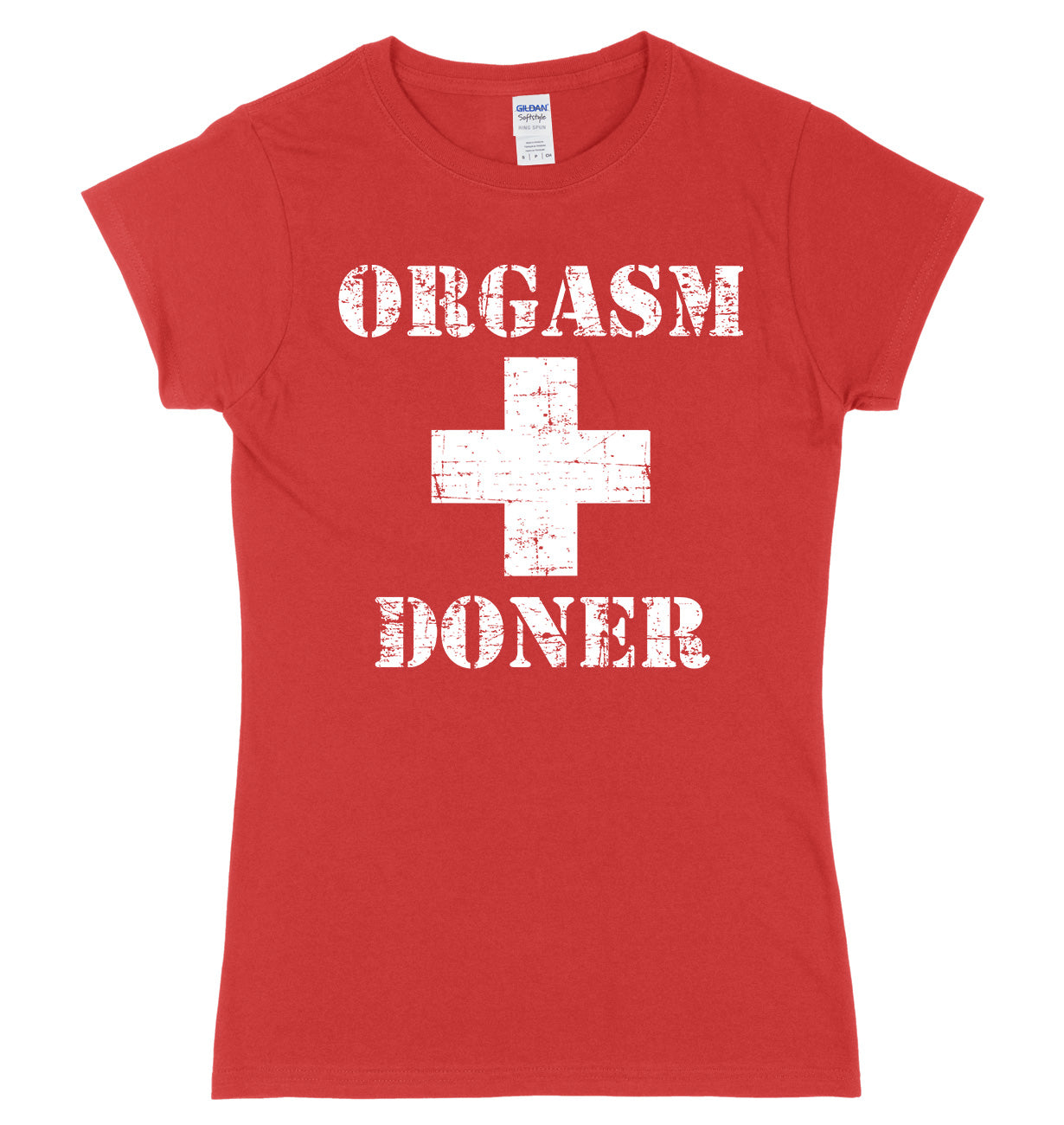 Orgasm Donor Womens Slim Fit T-Shirt