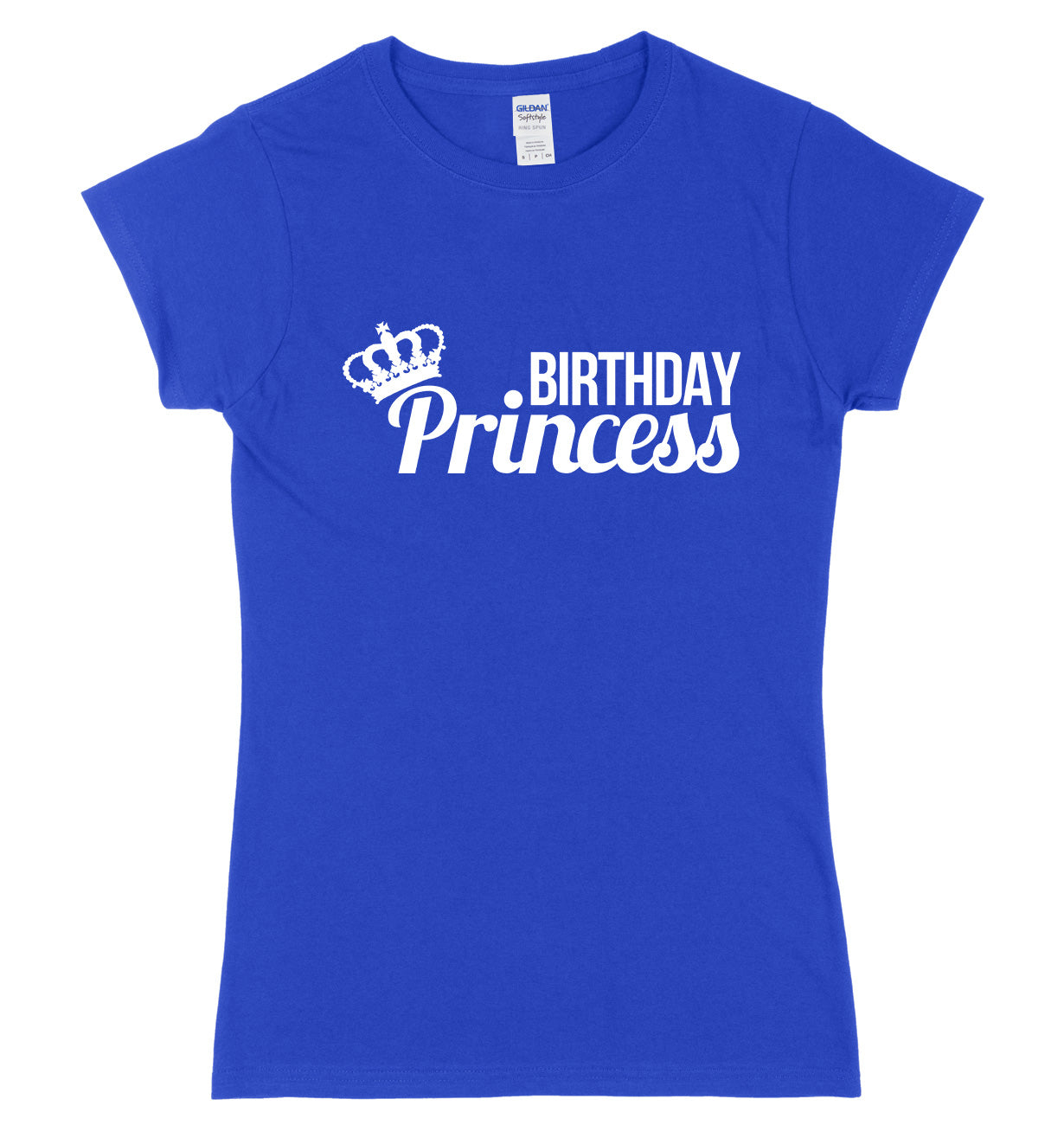 Birthday Princess Womens Ladies Slim Fit T-Shirt