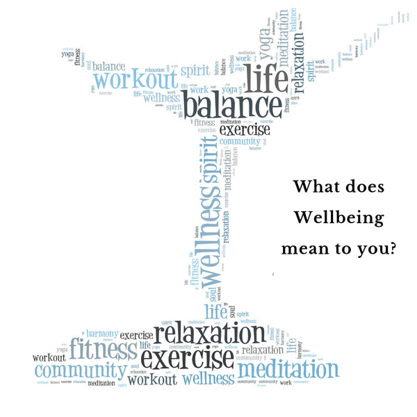 What does Wellbeing mean to you?