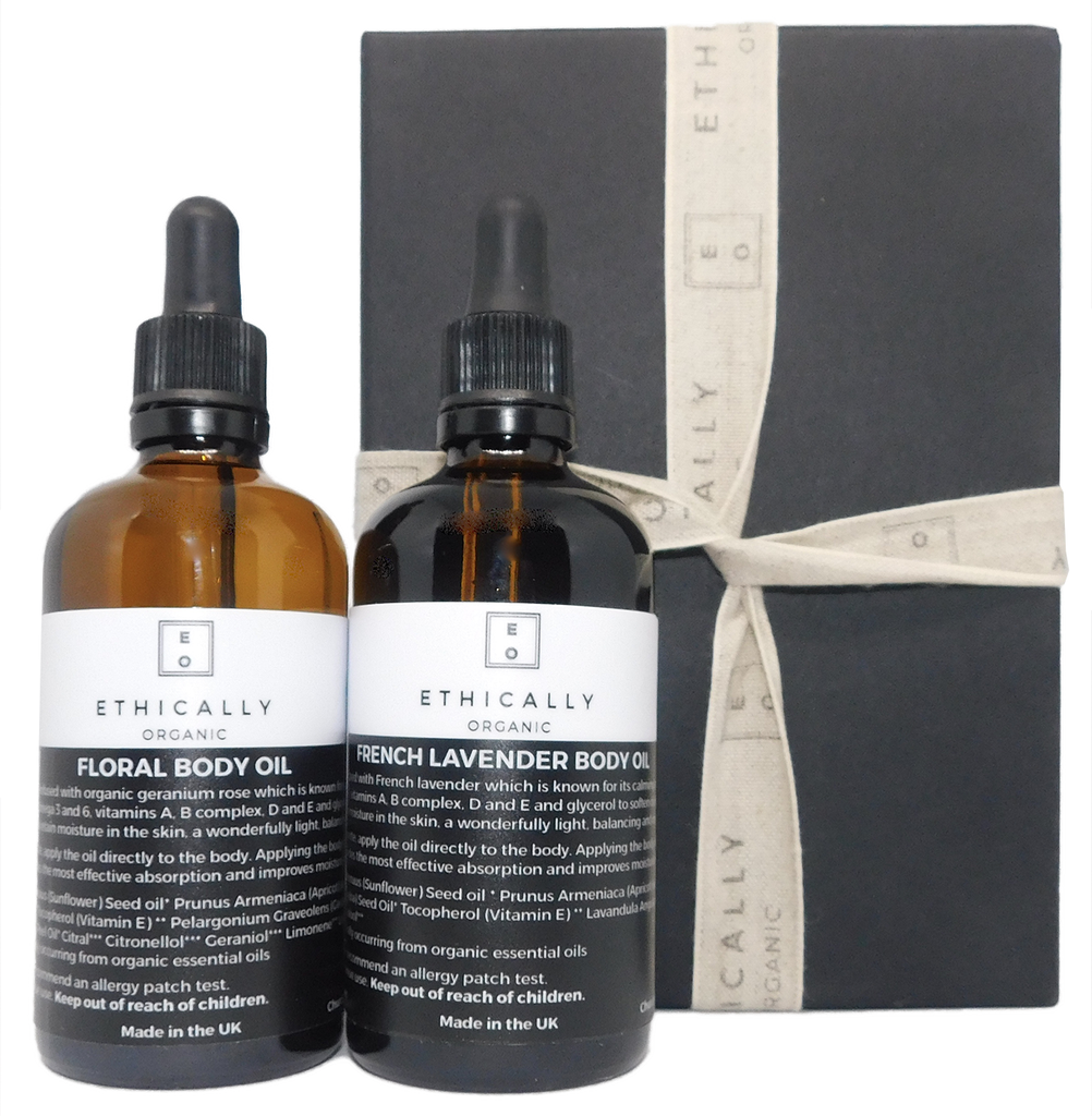 Ethically Organic Body Oil Gift Set