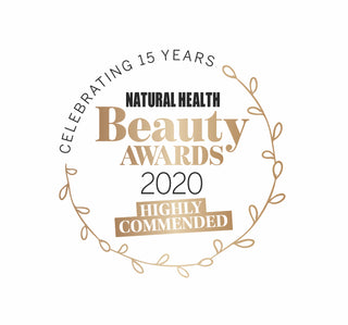Origins of Beauty is Highly Commended in the Natural Beauty Awards 2020 in the category of Natural Retailer
