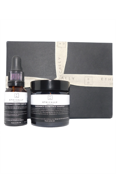 Ethically Organic Radiance Glow Gift Set Natural Organic Plant-based Vegan and Cruelty Free