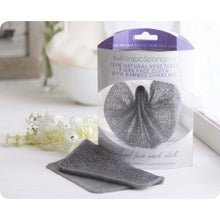The Konjac Sponge Company Bamboo Charcoal Fallen Angel Cloth - Oily, Teenage, Blemish Prone Skin