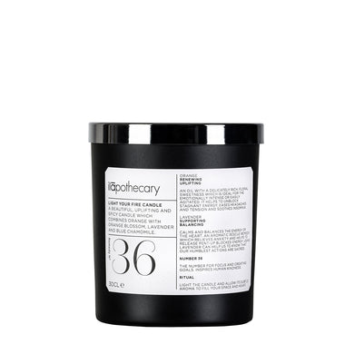 Ilāpothecary Light Your Fire Candle - 300ml Origins of Beauty 'Guilt Free Beauty and Wellbeing'