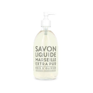Compagnie De Provence Extra Pur Liquid Marseille Soap - 500ml Olive Wood - Origins of Beauty 'Guilt Free Beauty and Wellbeing'