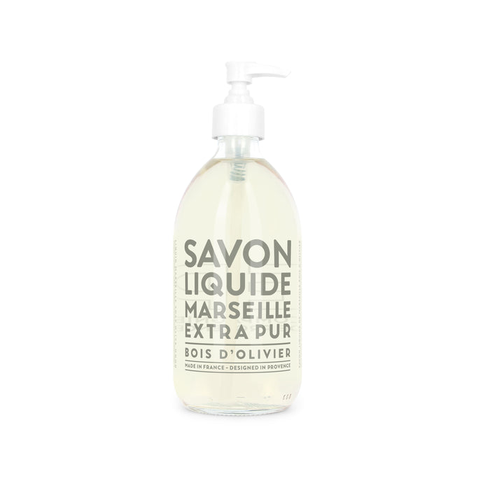 Compagnie De Provence Extra Pur Liquid Marseille Soap - 500ml Olive Wood Origins of Beauty 'Guilt Free Beauty and Wellbeing'