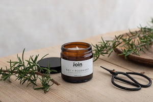 Join Apothecary Bay & Rosemary Scented Soy Wax Candle